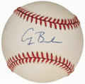 Autographs:Baseballs, President George H.W. Bush Single Signed Baseball....