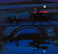 Mary Blair The Adventures of Ichabod and Mr. Toad Concept Painting (Walt Disney, 1949)