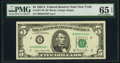 Fr. 1977-B* $5 1981A Federal Reserve Star Note. PMG Gem Uncirculated 65 EPQ
