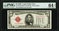 Small Size:Legal Tender Notes, Fr. 1531 $5 1928F Wide I Legal Tender Note. PMG Choice Uncirculated 64 EPQ.. ...