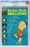 Silver Age (1956-1969):Humor, Richie Rich Millions #8 File Copy (Harvey, 1964) CGC NM/MT 9.8 Off-white to white pages....