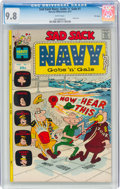 Bronze Age (1970-1979):Humor, Sad Sack Navy Gobs and Gals #1 File Copy (Harvey, 1972) CGC NM/MT 9.8 White pages....
