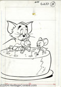 Original Comic Art:Covers, Gold Key Staff Artist - Tom and Jerry #275 Cover Original Art (GoldKey, 1973). Ah, there's nothing quite as refreshing as a...