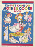 Original Comic Art:Covers, Vivienne - The Peek-a-Boo Mother Goose Book Cover Original Art(Saalfield, undated). Mama Goose reads her famous tales to a ...(Total: 2 Coins Item)