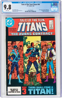 Tales of the Teen Titans #44 (DC, 1984) CGC NM/MT 9.8 White pages