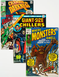 Marvel Silver and Bronze Age Horror Comics Group of 52 (Marvel, 1969-75) Condition: Average FN+.... (Total: 52)