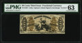 Fractional Currency:Third Issue, Fr. 1356 50¢ Third Issue Justice PMG Choice Uncirculated 63.. ...