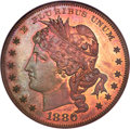 1880 $1 Goloid Metric Dollar, Judd-1652, Pollock-1852, High R.6, PR66 Red and Brown NGC....(PCGS# 72037)