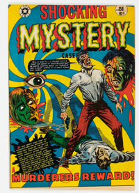 Shocking Mystery Cases #51 (Star Publications, 1952) Condition: VG/FN