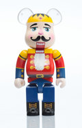 Collectible, BE@RBRICK X Dr. Romanelli. Merry X-mas 400%, 2010. Painted cast resin. 10-3/4 x 5 x 3-1/2 inches (27.3 x 12.7 x 8.9 cm)...