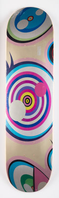 Takashi Murakami X ComplexCon Untitled, from Dobtopus, 2017 Screenprint on skate deck 32 x 8 inches (81.3 x 20.3