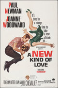 "Movie Posters:Comedy, A New Kind of Love (Paramount, 1963). Folded, Very Fine. One Sheet (27"" X 41""). Comedy.. ..."