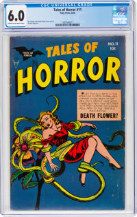 Tales of Horror #11 (Toby Publishing, 1954) CGC FN 6.0 Cream to off-white pages