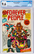 Bronze Age (1970-1979):Superhero, The Forever People #1 (DC, 1971) CGC NM+ 9.6 Off-white to white pages....