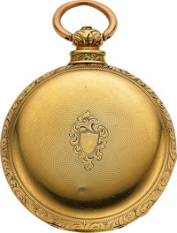 R. & G. Beesley, Liverpool, 18k Gold Lever Fusee Hunters Case, circa 1850