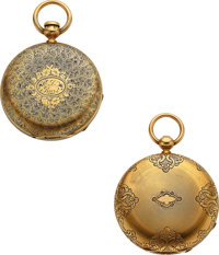 Elgin, Lady Elgin, Waltham, Appleton Tracy & Co. Two 18k Gold 10 Size Hunters ... (Total: 2)