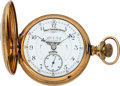 Timepieces:Pocket (pre 1900) , Hampden, John C. Dueber's Personal Watch, 23 Jewel Special Railway No. 1201174, Webb C. Ball Moorhouse Dial, As Listed In Col....