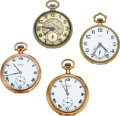 Timepieces:Pocket (pre 1900) , Four Ball Watch Co. 12 Size Watches Case: