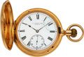 Timepieces:Pocket (pre 1900) , J.P. Stevens & Bro., 18k Gold Hunter By Vacheron & Constantin, Original Box. ...
