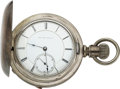 Timepieces:Pocket (pre 1900) , New York Watch Co., Early 15 Jewel Springfield, No. 306, Wolf's Tooth Winding. ...