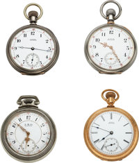Four Model 72 Waltham Watches ... (Total: 4 Items)