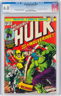 Bronze Age (1970-1979):Superhero, The Incredible Hulk #181 (Marvel, 1974) CGC FN 6.0 Off-white to white pages....