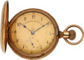 Timepieces:Pocket (pre 1900) , Keystone Watch Co., Nickel Dust Proof, Original Box. ...