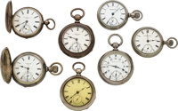 Seven Independent Watch Co. Fredonia N.Y. Watches ... (Total: 7)