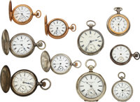 Ten Waltham Watches ... (Total: 10 Items)