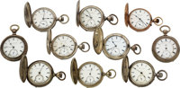 Lot of 10 United States Watch Co. Marion N.J. Watches ... (Total: 10)