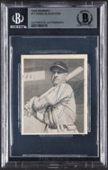 Autographs:Sports Cards, Signed 1948 Bowman Enos Slaughter #17 Beckett Authentic....