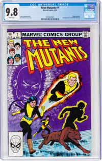 The New Mutants #1 (Marvel, 1983) CGC NM/MT 9.8 White pages