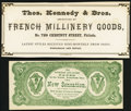 Obsoletes By State:Pennsylvania, Philadelphia, PA- E.A. McKeever $5 Advertising Note ND (ca. 1870s) Crisp Uncirculated;. Philadelphia,...