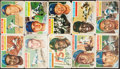 Baseball Cards:Sets, 1956 Topps Baseball Complete Set (340) With Both Checklists. ...