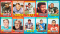 Football Cards:Sets, 1971 Topps Football Complete Set (263)....