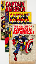 Silver Age (1956-1969):Superhero, Captain America Group of 31 (Marvel, 1967-74) Condition: Average FN/VF.... (Total: 31 Comic Books)