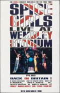 """Movie Posters:Rock and Roll, Spice Girls Lot (1999 & 1998). Rolled, Very Fine. Concert Poster (39"""" X 55"""") & Video Album Poster (38.75"""" X 59.75"""") S..."""