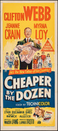 "Movie Posters:Comedy, Cheaper by the Dozen & Other Lot (20th Century Fox, 1950). Folded, Very Fine-. Australian Daybills (2) (13.25"" X 30""). Comed... (Total: 2 Items)"