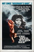 "The Devil within Her (American International, 1975). Folded, Very Fine. One Sheet (27"" X 41"") & Uncut..."