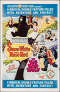Movie Posters:Fantasy, Snow White and Rose Red/The Big Bad Wolf Combo & Other Lot (Childhood Productions, R-1966). Folded, Overall: Very Fine-. One... (Total: 2 Items)