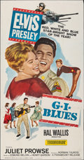 "Movie Posters:Elvis Presley, G.I. Blues (Paramount, 1960). Folded, Very Fine-. Three Sheet (41"" X 78.5""). Elvis Presley.. ..."