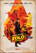 """Movie Posters:Science Fiction, Solo: A Star Wars Story (Walt Disney Studios, 2018). Rolled, Very Fine+. Bus Shelter (48"""" X 70"""") DS Advance. Science Fiction..."""