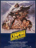 """Movie Posters:Science Fiction, The Empire Strikes Back (20th Century Fox, 1980). Very Fine on Linen. Full-Bleed French Grande (46"""" X 61.75"""") Tom Jung Artwo..."""