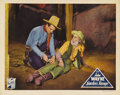 "Movie Posters:Western, Lawless Range (Republic, 1935). Lobby Card (11"" X 14""). This was John Wayne's third feature for the newly formed Republic St..."