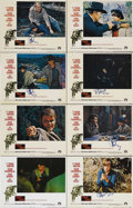 """Movie Posters:Western, True Grit (Paramount, 1969). Lobby Card Set of 8 (11"""" X 14""""). YoungMattie Ross (Kim Darby, in a role offered to Karen Carpe... (Total:8 Item)"""
