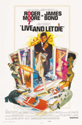 "Movie Posters:James Bond, Live and Let Die (United Artists, 1973). One Sheet (27"" X 41"")Eastern Hemisphere. Roger Moore's first assignment as Agent 0..."