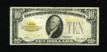 Small Size:Gold Certificates, Fr. 2400 $10 1928 Gold Certificate. Fine.. A small size $10 Gold Certificate should be in every small size collection. The e...