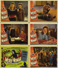 "Weird Woman (Universal, 1944). Title Lobby Card (11"" X 14"") and Lobby Cards (5) (11"" X 14""). In the..."