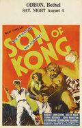 "Movie Posters:Horror, Son of Kong (RKO, 1933). Window Card (14"" X 22"") Wanting toimmediately cash in on its blockbuster hit ""King Kong,"" RKO imme..."