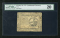 Colonial Notes:Continental Congress Issues, Continental Currency May 10, 1775 $2 PMG Very Fine 20. A moderatelycirculated example from this first Continental emission ...